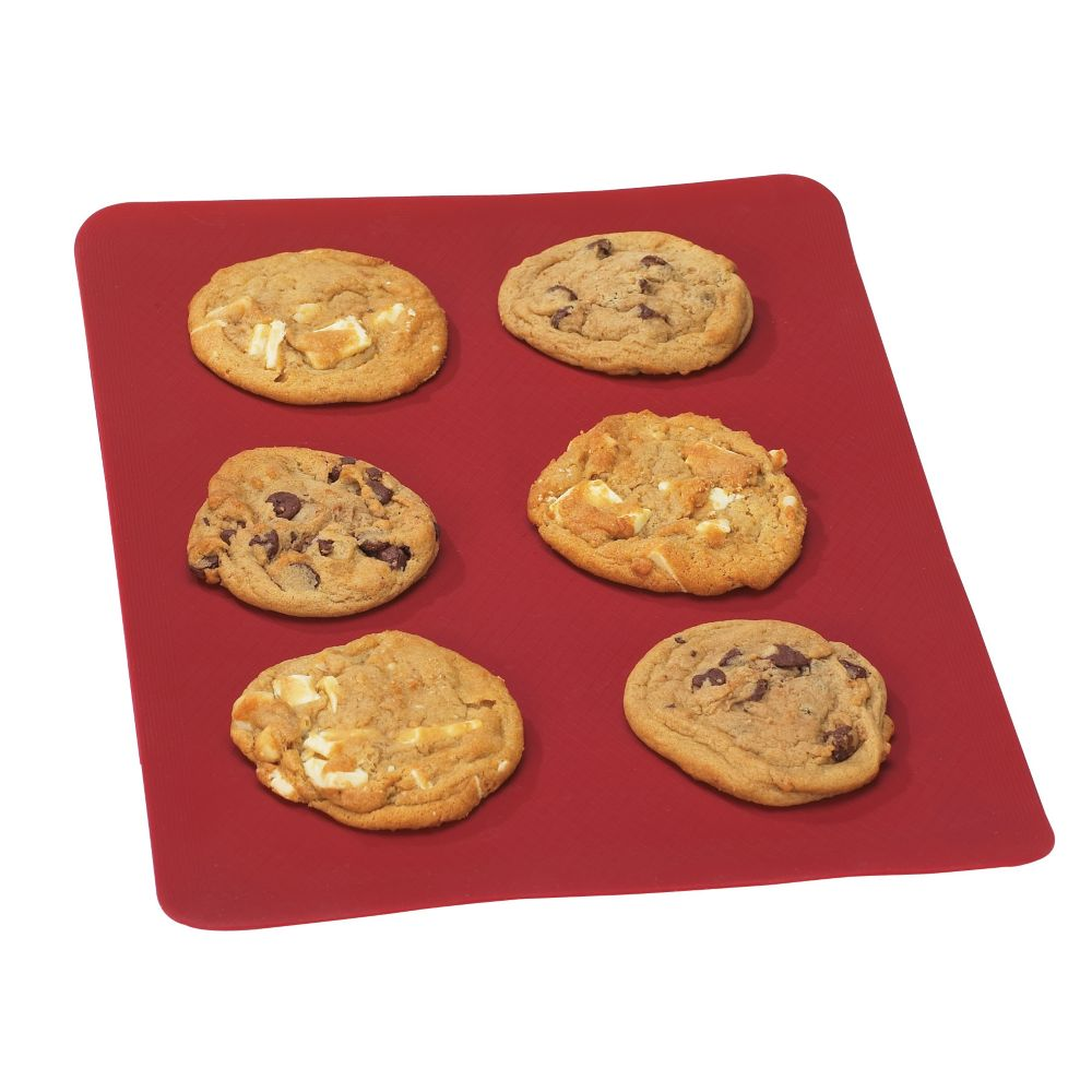 MASTER Chef Silicone Baking Sheet, Red