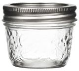 Bernardin Decorative Mason Jars, 125-mL,12-pk | Bernardinnull