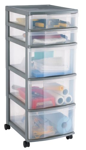 Gracious Living Storage Tower, 5-drawer Product image