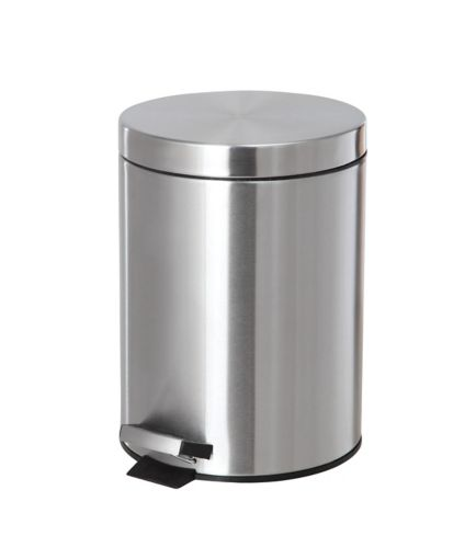 Stainless Steel Step Can, 5-L