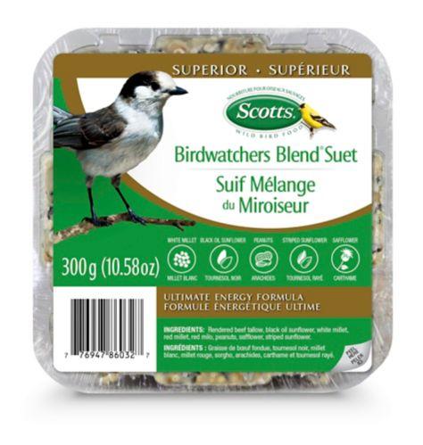 Scotts Birdwatcher's Blend Ultimate Energy Suet, 300-g Product image