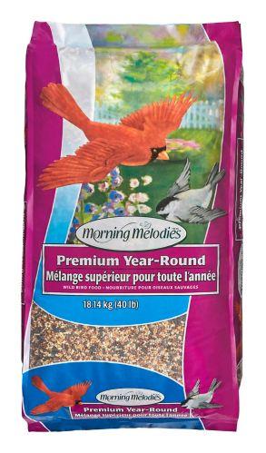 Graines Mélodies du Matin, mélange pour toute l'année, 18 kg Image de l'article