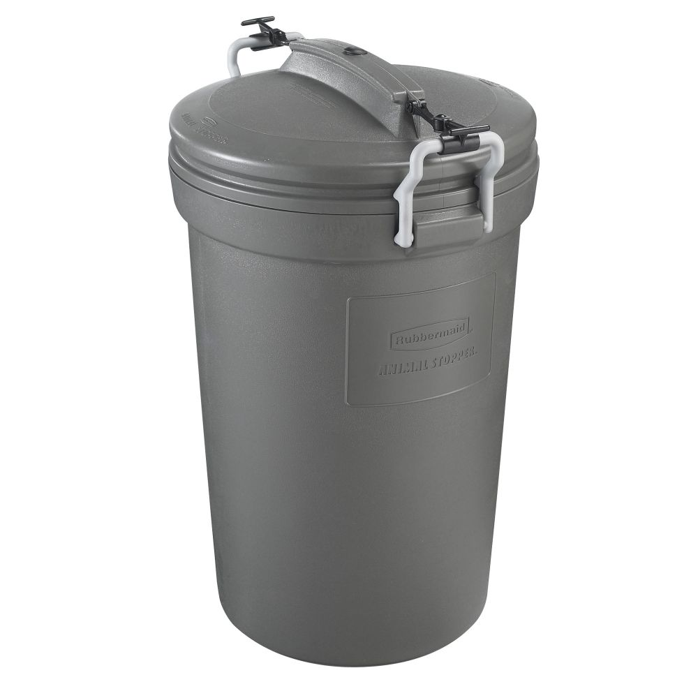 Rubbermaid Animal Stopper Garbage Can