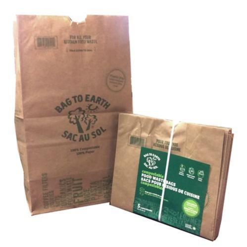 Organic Food Waste Bag, Large, 5-pk Product image