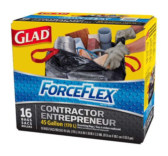 Glad Forceflex Contractor Garbage Bags Canadian Tire