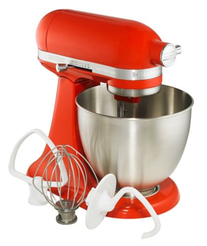 KitchenAid Artisan Mini Stand Mixer, Hot Sauce