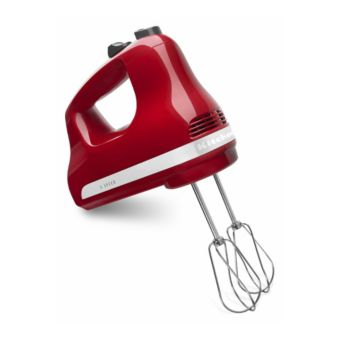Kitchenaid 5 Speed Hand Mixer Empire Red