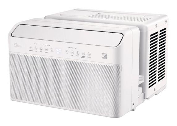Midea U-Shaped Window Air Conditioner, 10K BTU Product image
