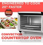 Black & Decker Convection Toaster Oven, 6-Slice | Black & Deckernull