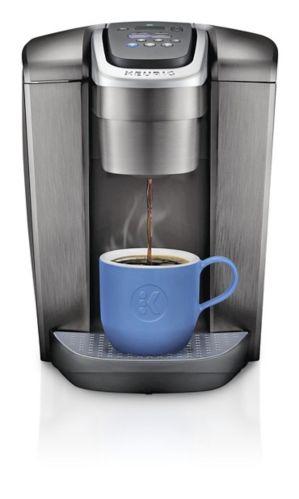 Keurig K-Elite Single Serve Coffee Maker, Brushed Slate ...