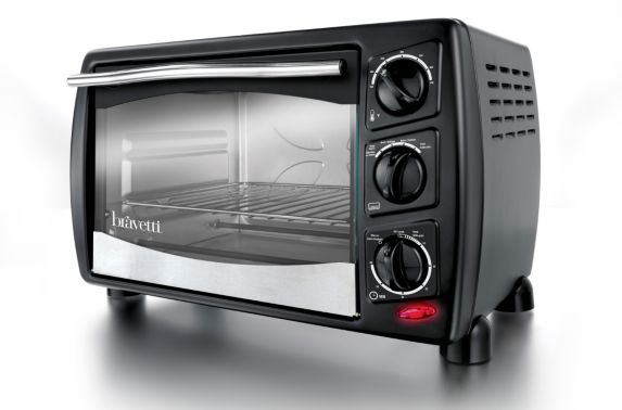 Bravetti Toaster Oven, 6-slice