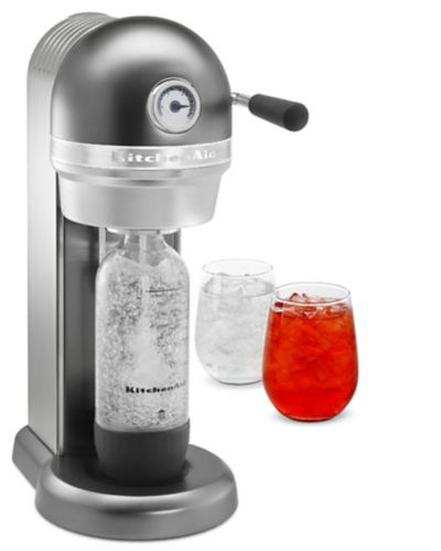 KitchenAid Effervescent Powered by Soda Stream Liquid Graphite Product image