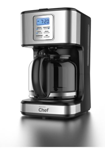 MASTER Chef Stainless Steel Coffee Maker, 12-Cup