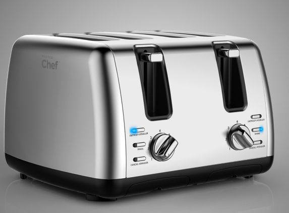 MASTER Chef Toaster, 4-Slice