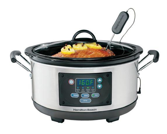 Hamilton Beach Slow Cooker, 6-qt Product image
