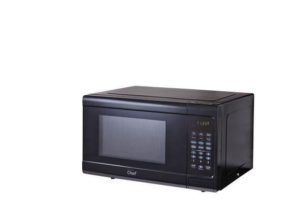 MASTER Chef 0.9 cu.ft. Microwave, Black