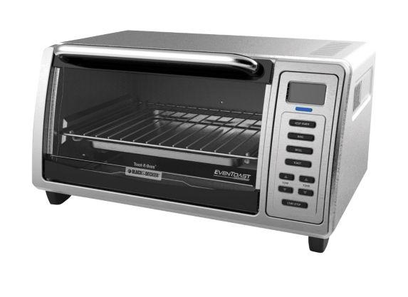 Black Amp Decker Kitchen Tools Digital Toaster Oven 4 Slice