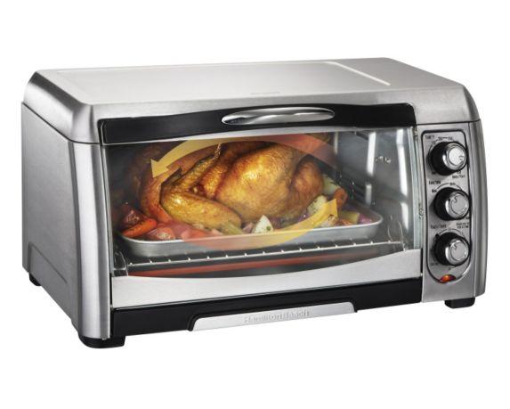 Hamilton Beach Easy-Reach Convection Toaster Oven, 6-Slice