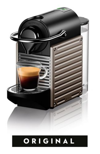 Nespresso Pixie Espresso Machine by Breville, Titan Product image