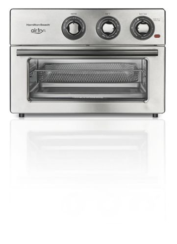 Hamilton Beach Stainless Steel Air Fry Countertop Toaster Oven, 6-Slice
