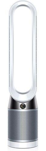 Dyson Pure Cool™ HEPA Air Purifier & Fan Tower, White/Silver (TP04)