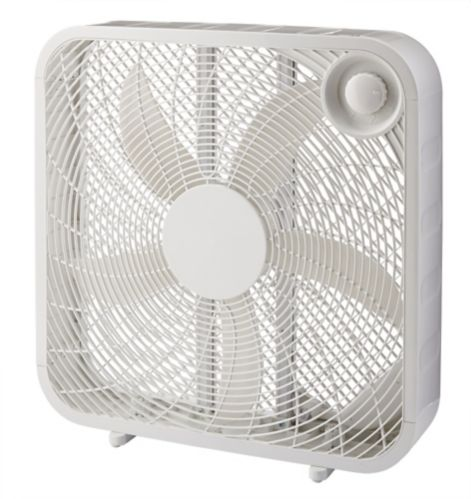 For Living Box 5-Blade Fan, 20-in