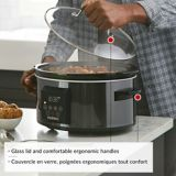 PADERNO Programmable Slow Cooker, Black Stainless Steel, 6-qt | Paderno | Canadian Tire