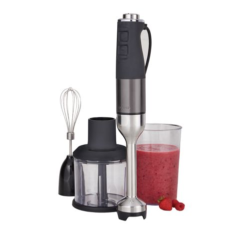 PADERNO Variable Speed Immersion Blender, Black Stainless Steel Product image