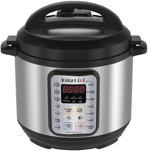 Instant Pot® Viva 9-in-1 Multi-Use Programmable Pressure Cooker, 6-qt