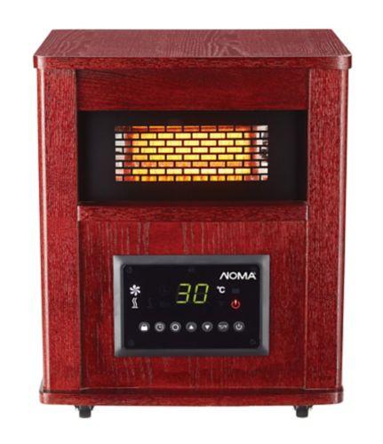 NOMA Wood Cabinet Infrared Heater Product image