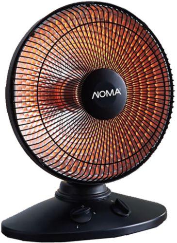 NOMA Oscillating Parabolic Dish Radiating Heater