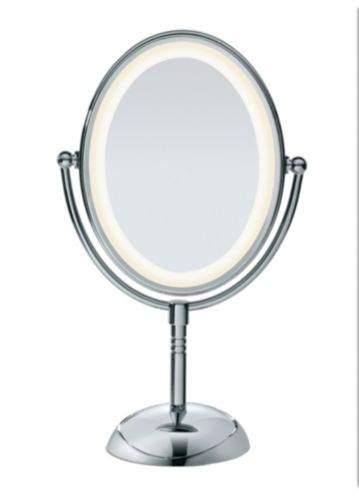 Conair Led Chrome Mirror Canadian Tire, Lighted Makeup Vanity Mirror Canada