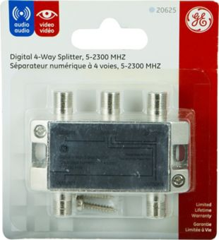GE Digital 4-Way Splitter | Canadian Tire