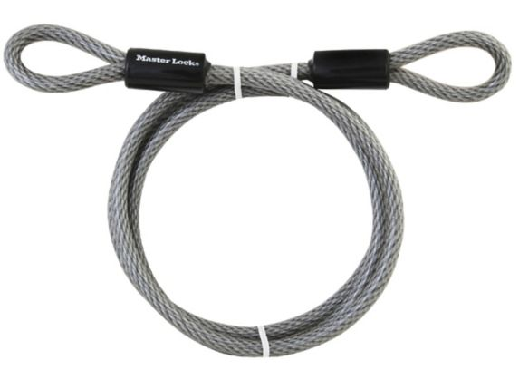 Master Lock Looped End Cable, 6-ft x 3/8-in Product image