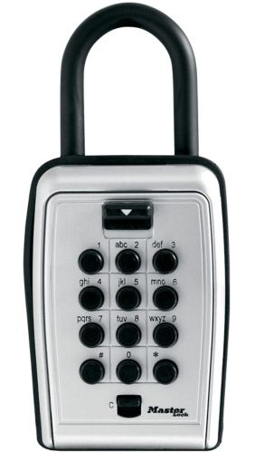 Master Lock 79mm Wide Resettable Combination Portable Push Button Lock Box Product image