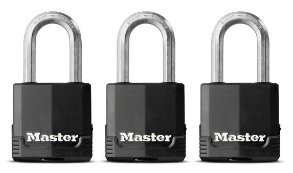 Arceau en acier laminé Master Lock, 1 7/8 po/48 mm, paq. 3 Image de l'article