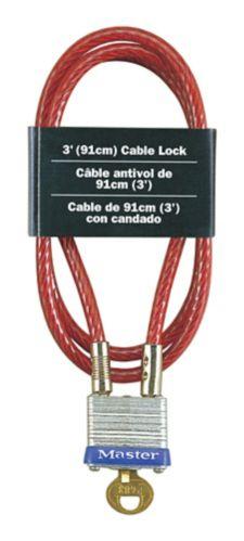 Cadenas à câble Master Lock, 29 mm Image de l'article