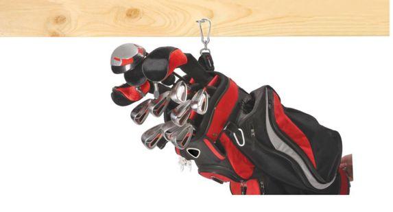 Attache robuste Velcro avec mousqueton, noir Image de l'article