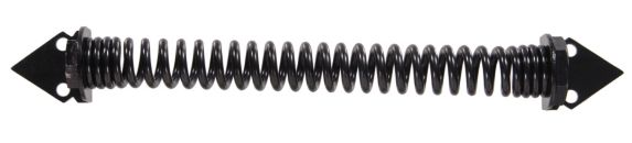 Hillman 851368 Self-Closing Gate Spring, Black, 12-in Product image