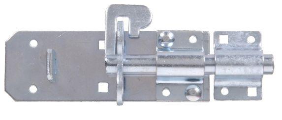 Verrou cadenassable robuste, galvanisé, 6 po Image de l'article