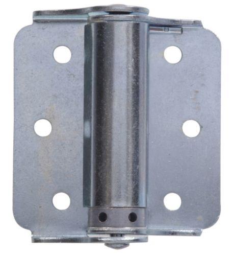 Hillman 851594 Heavy-Duty Adjustable Spring Hinge, Zinc-Plated Product image