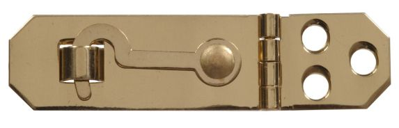 Morailllon en laiton massif avec crochet, 3/4 po Image de l'article
