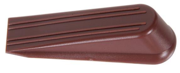 Cale d'arrêt de porte en coin, brune Image de l'article