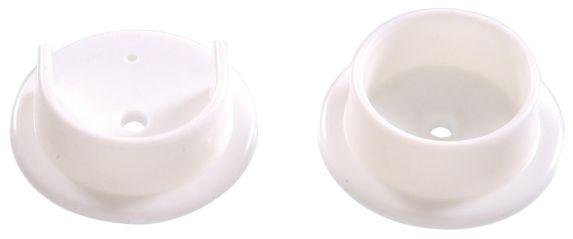 Closet Rod Holder, White Product image