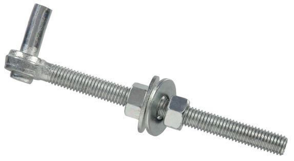 Hillman Zinc Bolt Hook Gate, 1/2 x 6-in Product image