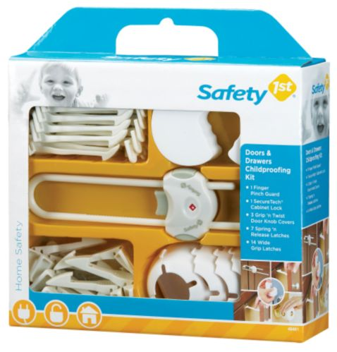 Dispositifs de protection pour portes et tiroirs Safety 1st Image de l'article