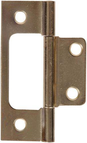 Hillman Satin Brass Non Mortise Hinge Product image