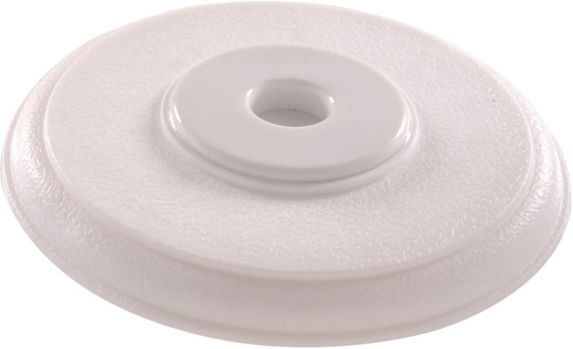 Hillman White Cover Up Wall Door Stop, 1-pk Product image