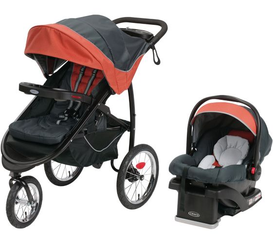 Graco FastAction™ Fold Jogger Click Connect™ Stroller Travel System Product image