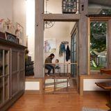 Barrière pour bébé Evenflo Position & Lock FarmHouse | Evenflonull